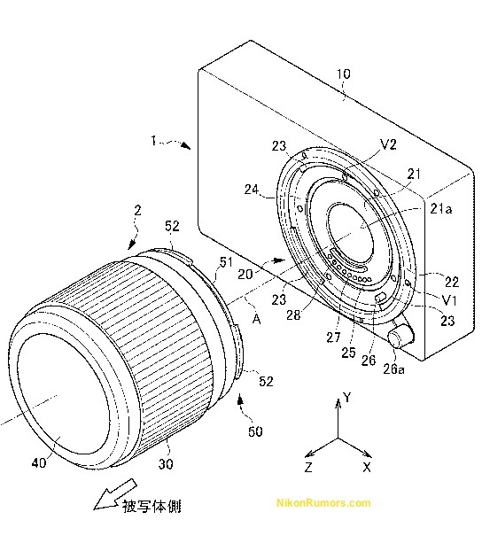 nikon-evil-mirrorless-camera-patent-japan