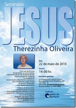 Cartaz Seminário Jesus-Therezinha
