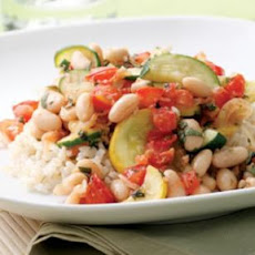 Summer Squash & White Bean Sauté