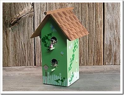 Decorative Wooden Bird House1