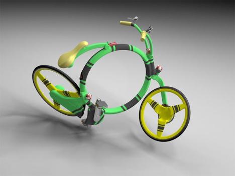 Konsep Sepeda Unik Masa Depan