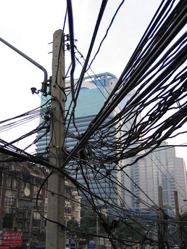 Foto Kabel-Kabel Paling Ruwet di Dunia