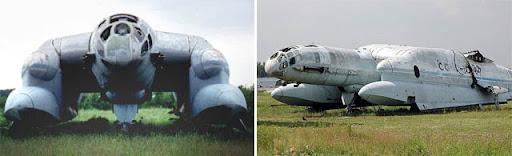 Ekranoplan, pesawat ground effect asal rusia (2)