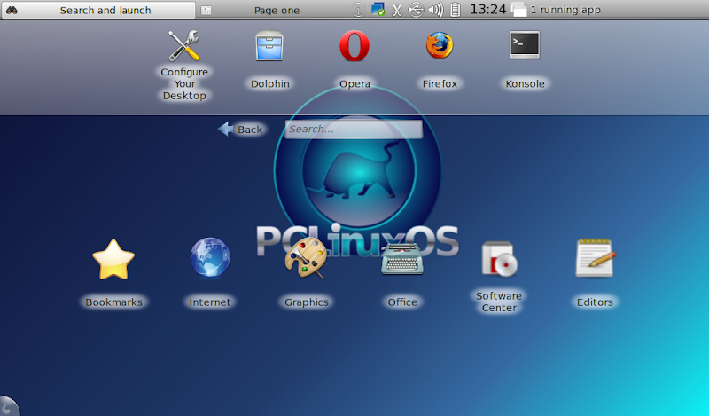 PCLinuxOS 2010 KDE Netbook