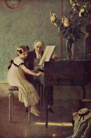 Meunier - First Piano Lesson