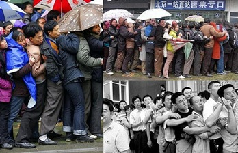 Queues in China