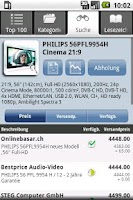 Screenshot of Toppreise.ch