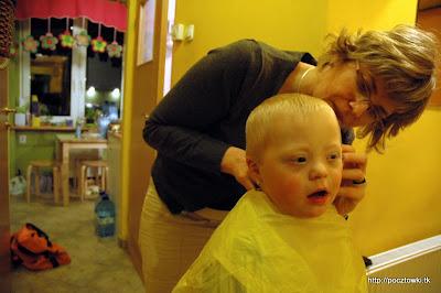 U fryzjera z uśmiechem ;-)
