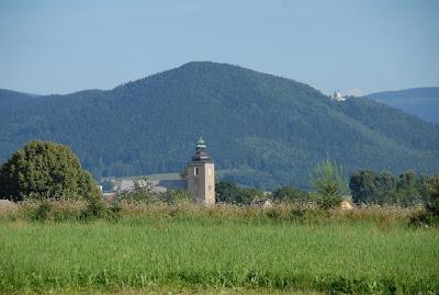 Widok na Igliczną (845m n.p.m.) i Sanktuarium Marii Śnieżnej