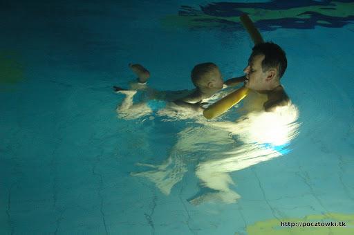 Wieczorne zajęcia z pływania