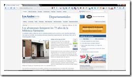 Diario Los Andes, Sábado 8 de Mayo de 2010