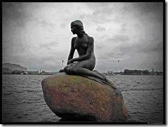 Escultura de La Sirenita
