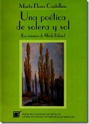 Una poética de solera y sol (Marta Elena Castellino)