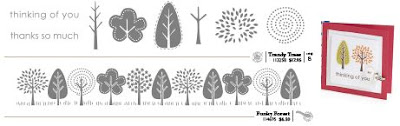 Trendy Trees & Funky Forest Stamp Set & Wheel