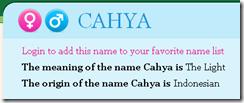 cahya