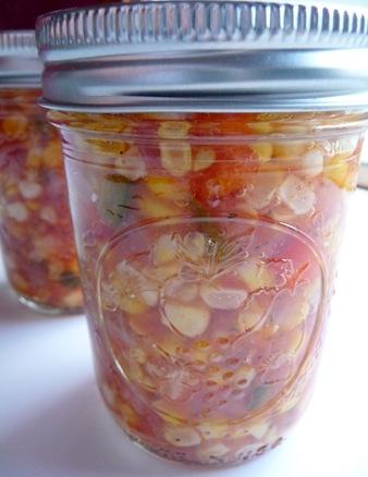 Farmers Market Corn Salsa