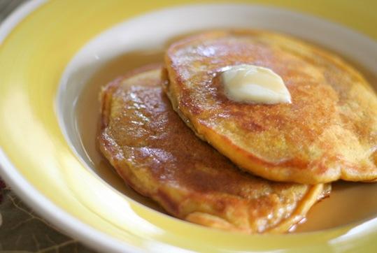 pumpkin spice pancakes 1