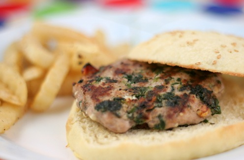 spinach tom feta burgers 1