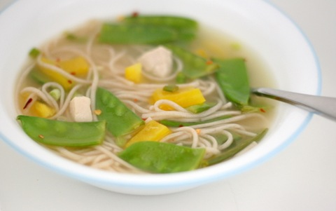soba chicken soup 1