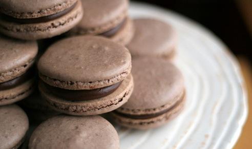 chocolate macarons 5