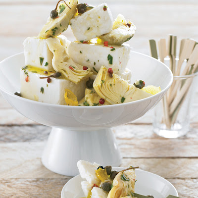 Artichoke Hearts with Citrus Zest
