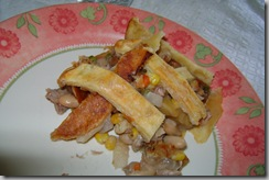chicken pie supper