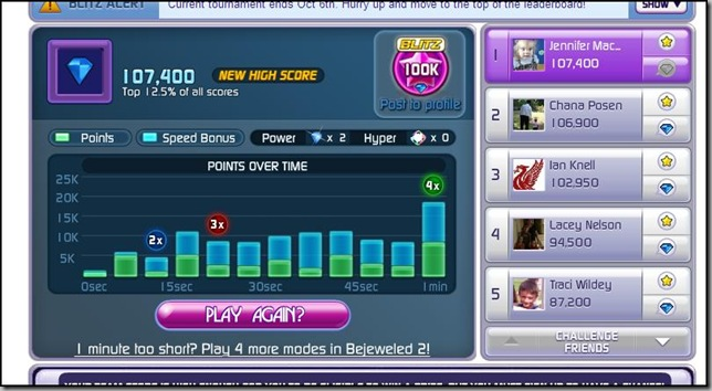 bejeweled high score
