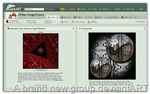 A new group at deviantART