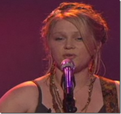 Crystal Bowersox Bobby McGee American Idol Top 11 March 23