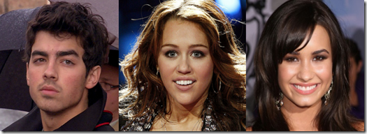 American Idol Results March 24 - Miley Cyrus Joe Jonas and Demi Lovato