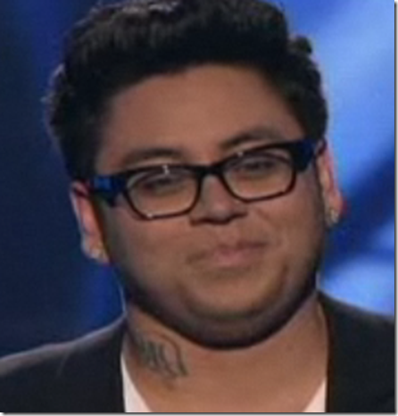 Andrew Garcia Hound Dog Top 9 American Idol April 13