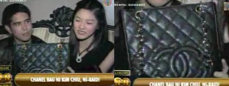 Kim Chiu Chanel Quilted Bag