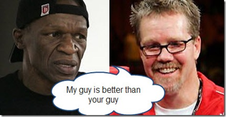 Mayweather and Roach - Who Will Fall in Round 3?