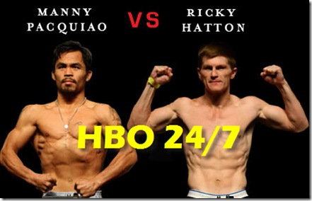 Pacquiao Hatton HBO 247