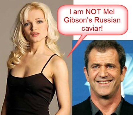 Oksana Kolesnikova Mel Gibson Robyn Divorce