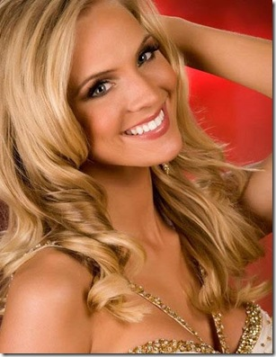 2009 Miss USA winner Kristen Dalton from North Carolina