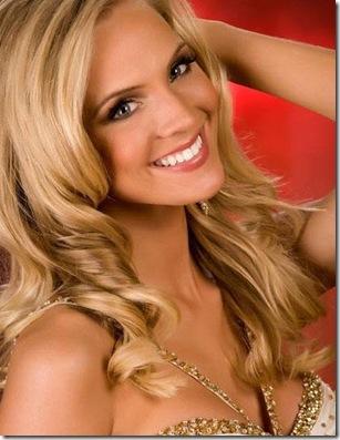 2009 Miss USA winner Kristen Dalton from North Carolina