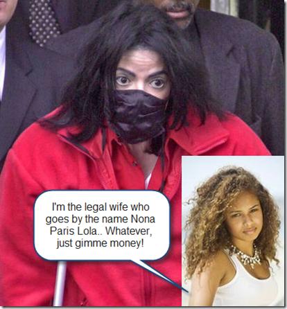 Nona Paris Lola Ankhesenamun Jackson