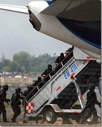 Avion Secuestrado en Mexico