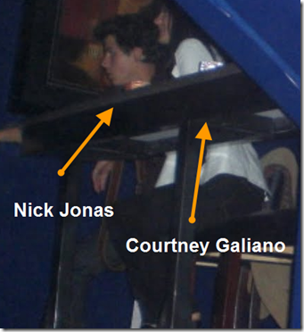 Courtney Galiano Dating Nick Jonas