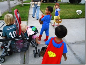 trick or treating and vacuum 015