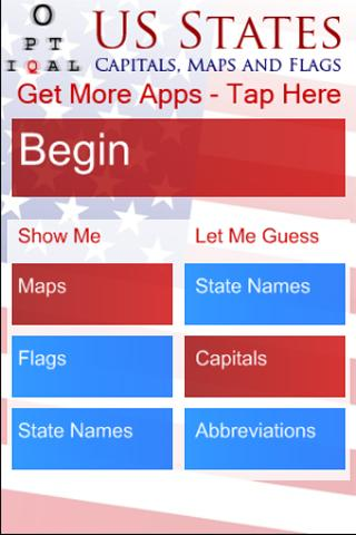 USA State Capitals Quiz - Free