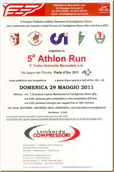 2011.05.29 Athlon Run, Castiglione O.