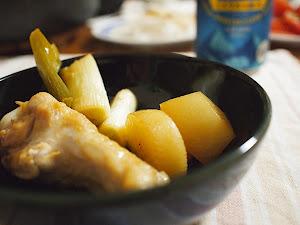 手羽元と野菜の酢煮