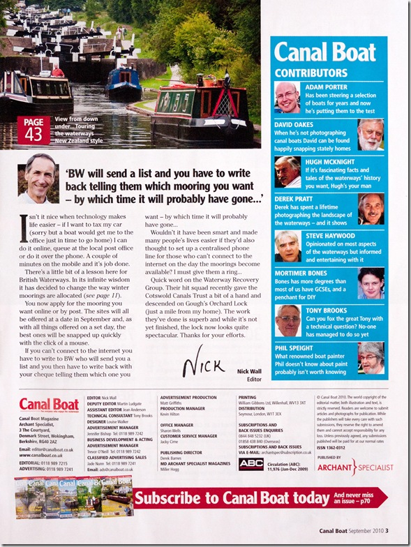 Canalboat Magazine 2