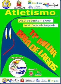 CARTAZ MILHA OLIMPICO 2009