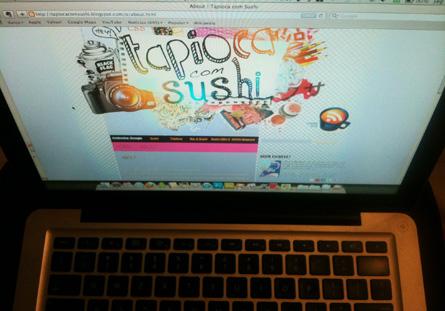 Imagem de ilustração do primeiro post do tapioca com sushi