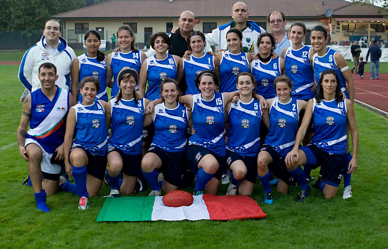 Ireland defeats Italy in first ever womens international in Europe -  Australian Football 2010 Euro Cup in Parabiago (Milan) 94d16336fa