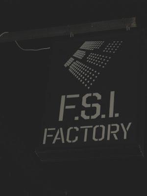 FSI Factory street sign