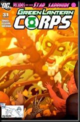 06 - Green Lantern Corps #31